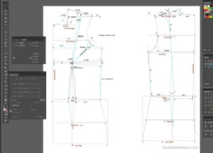 Sew Sweetness Garment Pattern Drafting Computer Program Designing