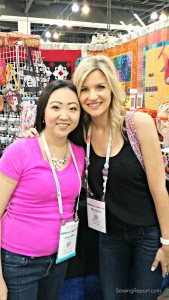 Sewing Report Jennifer Moore QuiltCon Selfie Melanie Ham Featured Image
