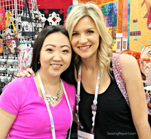 ewing Report Jennifer Moore QuiltCon Selfie Melanie Ham YouTube iheartstitches