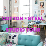 Cotton + Steel Studio Tour