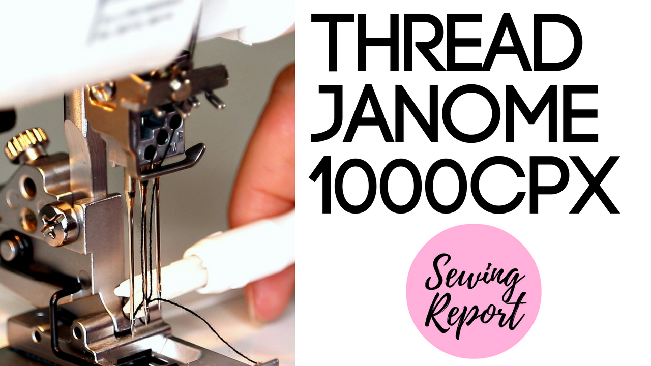 Janome Coverpro 1000CPX Threading