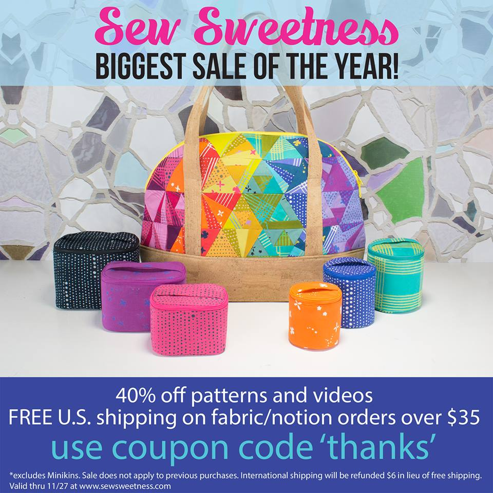sew sweetness holiday sale 2017