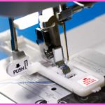 How to Use a Buttonhole Foot on the EverSewn Sparrow 25 Sewing Machine