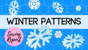 winter sewing pattern