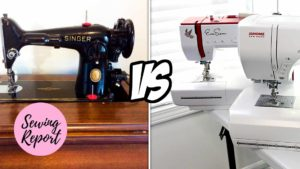 Sewing Report Vintage vs New Sewing Machines
