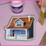 Building a Dollhouse: Sanding + Painting | Beachside Bungalow Kit Episode 3