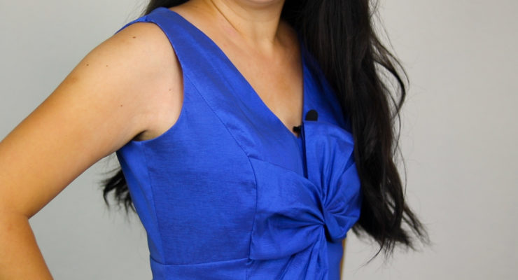 How to Shorten Shoulder Straps on Dresses + Tops