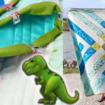 Let's Finish This Dinosaur Quilt | Trim + Binding