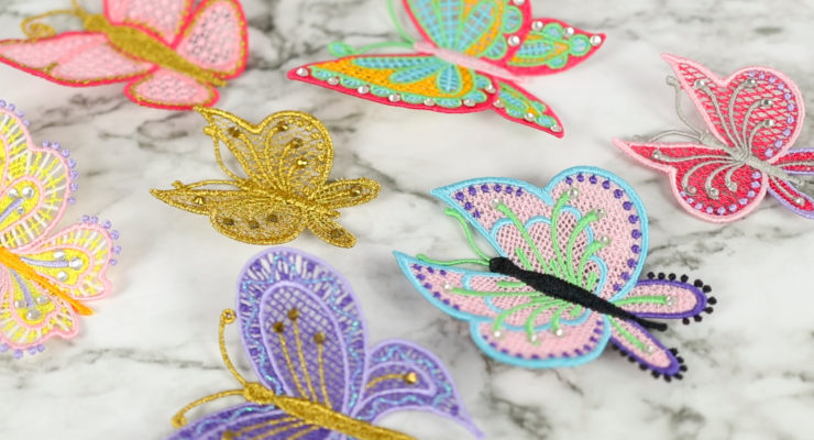 Butterfly Freestanding Lace Project