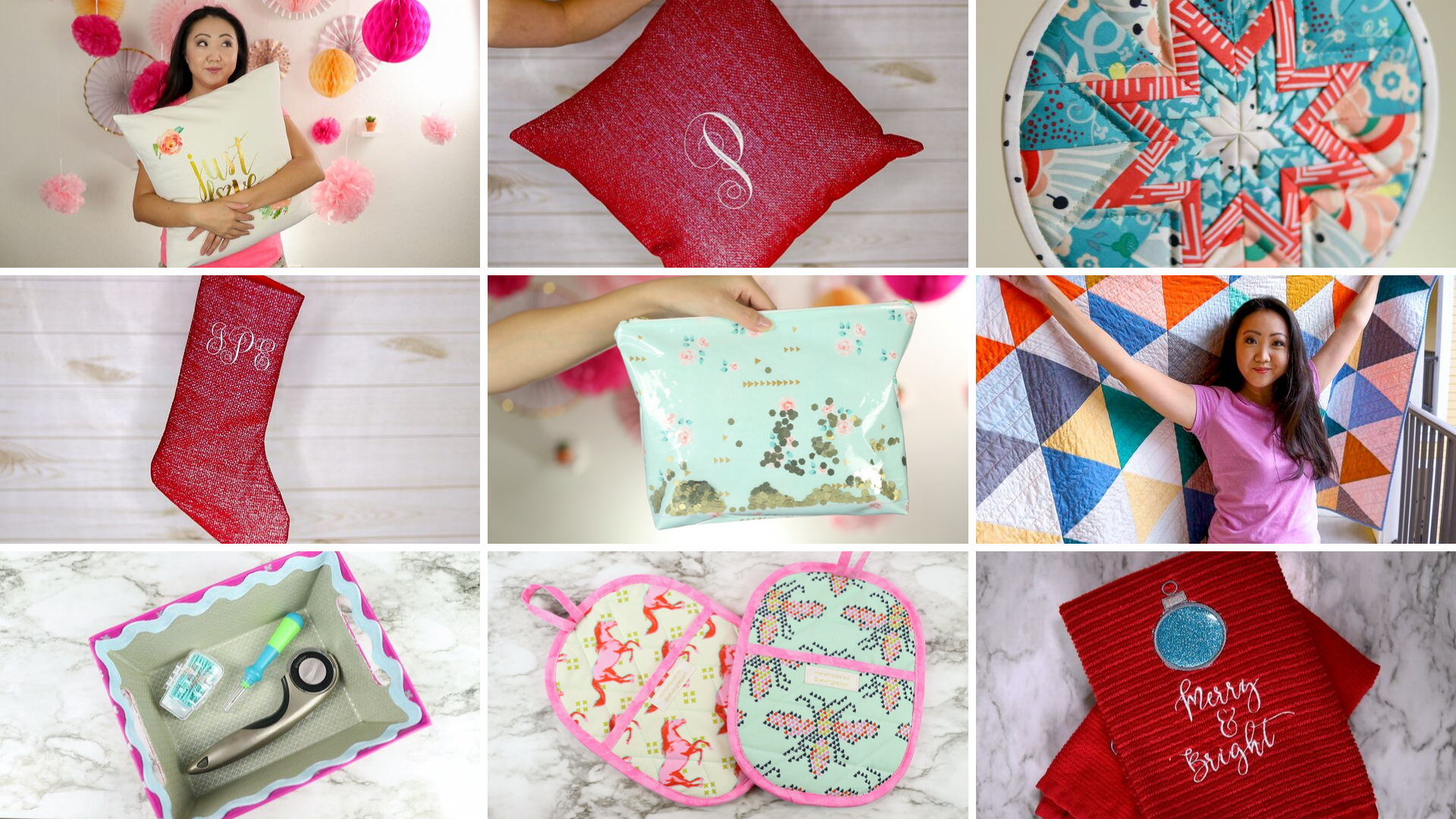 Christmas Gift Ideas 2019 Diy.Diy Christmas Gift Ideas 10 Sewing Quilting Embroidery