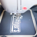 Embroidering Windbreakers + Getting Designs Digitized on Etsy