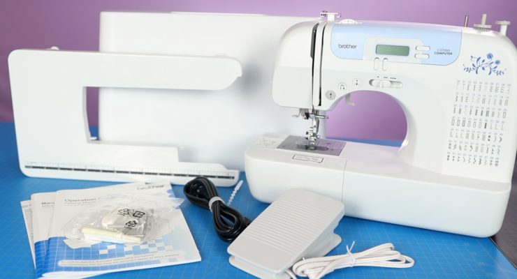 Brother CS7000i Sewing Machine   Basics + Overview   How to Use a Sewing Machine