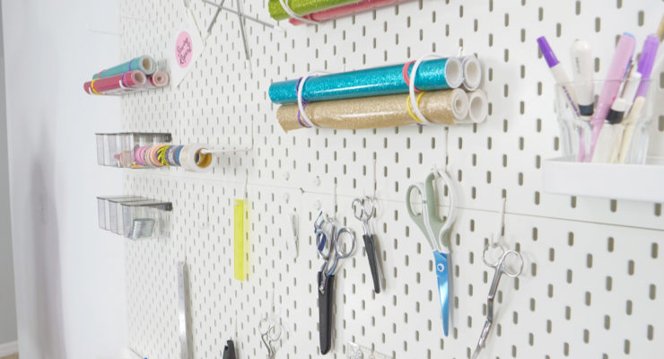 IKEA Skådis Pegboard System   Easy Installation Tips