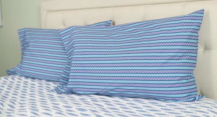 Easy Basic Pillowcase with French Seams