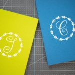 Cricut Iron-On Monogram Notebook Tutorial | Easy HTV Project